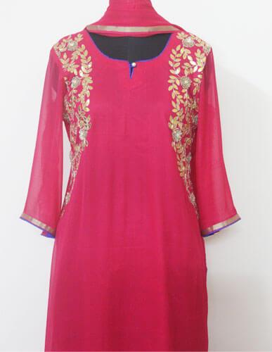Designer Pink Suit