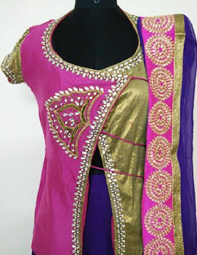 Exclusive Designer Pink Lehenga 3